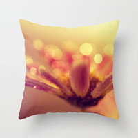 little cup of sunshine Throw Pillow by ingz
