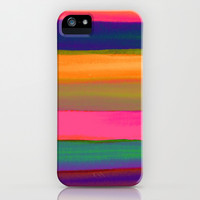 DESERT SUNSET iPhone & iPod Case by Rebecca Allen