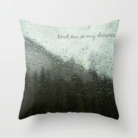 Meet Me In My Dreams... Throw Pillow by RDelean
