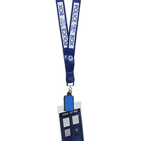 Doctor Who I Am TARDIS Lanyard