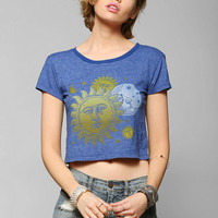Truly Madly Deeply '90s Moon Cropped Tee - Urban Outfitters
