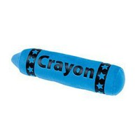 BLUE PLUSH CRAYON