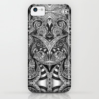 Drawing floral abstract background B6 iPhone & iPod Case by MedusArt