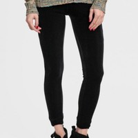 Midnight Clearing Velvet Leggings