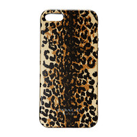 COACH iPhone® 5 Case in Madison Ocelot Silicone