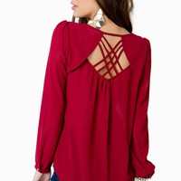 Date Night Blouse