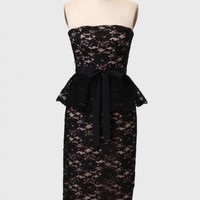 Be My Date Lace Dress By MM Couture