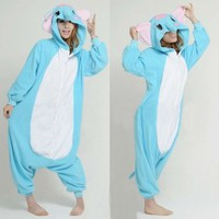 Promithi All In One Adult Unisex Animal Sleepsuit Kigurumi Cosplay Costume Pajamas