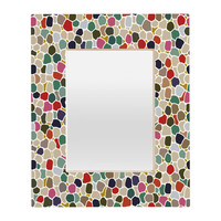 Sharon Turner Echo Beach Rectangular Mirror