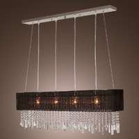 LightInTheBox Stylish Pendant Light with 4 lights (Fabric Shade)