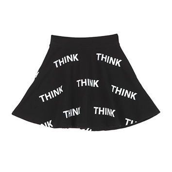 THINK Flared Mini Skirt