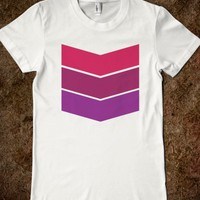 Cool Ladies Chevron-Style T-Shirt