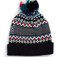 BIRDSEYE FAIRISLE BEANIE - Winter Accessories - Shoes and Accessories