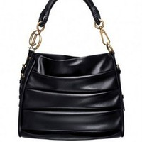 Dior Black Libertine Sheepskin Handbag