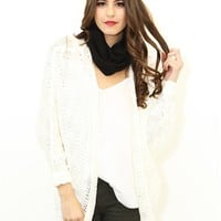 West Coast Wardrobe Cabin Fever Cardigan In Cream