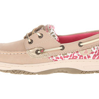 Sperry Kids Bluefish (Little Kid/Big Kid) Silver Cloud/Leopard Print - Zappos.com Free Shipping BOTH Ways