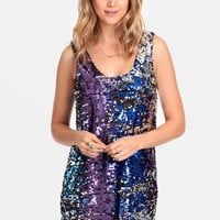 Perfect Ending Sequined Dress By Lovers + Friends
