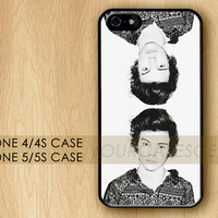 HARRY STYLES 2013 One Direction Cool Unique Apple iPhone 4 Case,iPhone 4s Case,iPhone 5 Case,iPhone 5s Case,iPhone 5c Case Cover