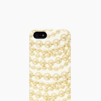 pearls resin iphone 5 case - kate spade new york