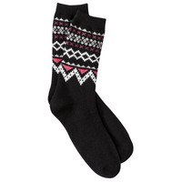 Merona® Women's Crew Socks - Assorted Colors/Patterns One Size Fits Most