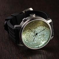 The Moon Halotech Lithophane Watch