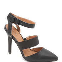 Qupid Potion Pointed Toe Heels at PacSun.com