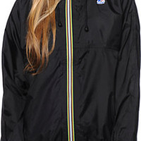 K-Way Claudette Klassic Black Windbreaker Jacket