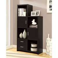 Cappuccino Finish Storage Unit