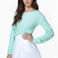 Lexington Sweater - Mint
