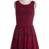 Floral Flashback Dress | Mod Retro Vintage Dresses | ModCloth.com
