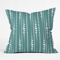 Heather Dutton Bestrewn Lagoon Outdoor Throw Pillow