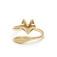 girlsluv.it - FOX with TAIL ring, 2 colors