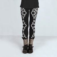 Leggings Lace Embroidery Design 1 by Medusa81 (Leggings)