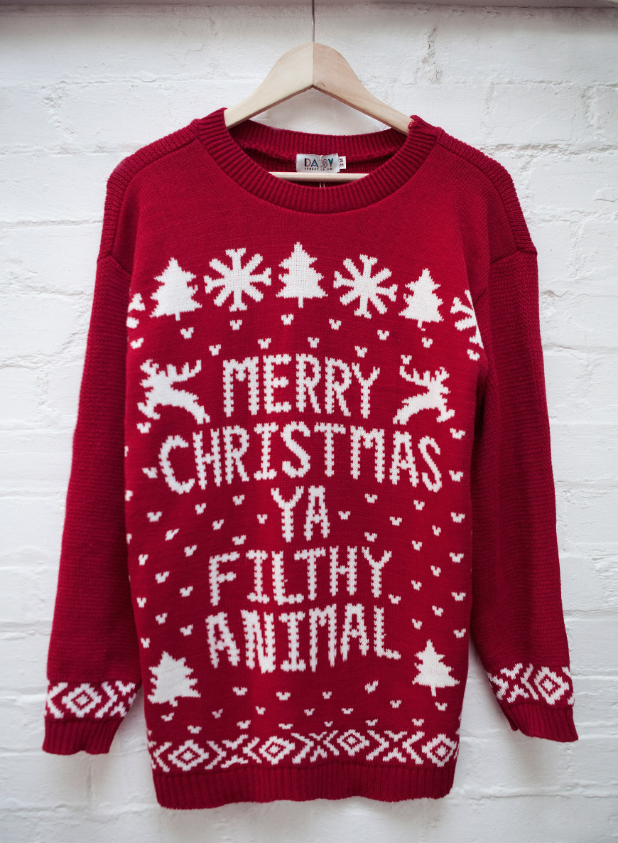 merry christmas you filthy animal jumper amazon 115