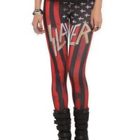 Slayer Flag Leggings Size : Large