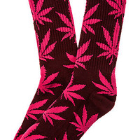 The Plantlife Socks in Wine