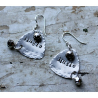 Jingle Bells Stamped Earrings