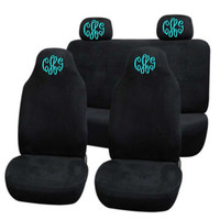 Personalized Front and back car seat covers