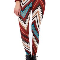 GEO PRINT LEGGINGS