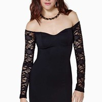 In The Dark Lace Dress