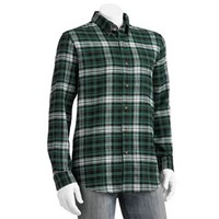 Chaps Crestfeld Flannel Plaid Button-Down Shirt - Men