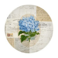 Vintage Blue Hydrangea French Cutting Board