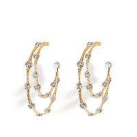 Alexis Bittar - Lace Hoop Earrings