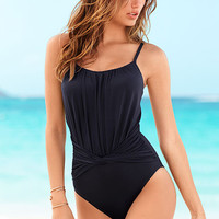 NEW! Twist-front One-piece