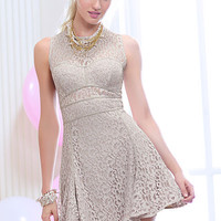 Fit-and-flare Lace Dress - Victoria's Secret