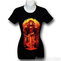 X-Men Dark Phoenix Psionics Juniors T-Shirt