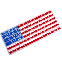 kmbuy - 2013 new arrival! Unique Ultra Thin Durable USA FLAG pattern Soft TPU Silicone Keyboard Skin Cover for Macbook Pro 13 15 17