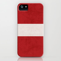 classic - red iPhone & iPod Case by her art
