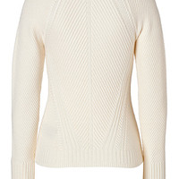 Burberry Brit - Merino Wool Pullover in Natural White