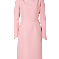 Valentino - Wool-Silk Long Sleeve Dress